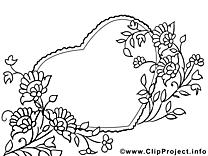 Fleurs image gratuite – Fête des mères à imprimer