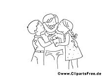 Coloriage enfants image à télécharger gratuite
