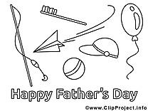 Divertissement dessin – Coloriage fête des pères à télécharger