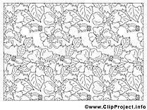Décoration clip arts – Fleurs à imprimer