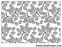 Décoration image gratuite – Fleurs à imprimer