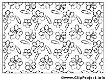 Fleurs images gratuits à imprimer