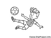 Ballon cliparts gratuis – Football à imprimer