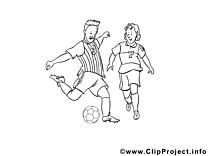 Football coloriages
