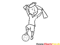 Soccer Coloriage Images et Illustrations Albanie