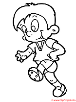 Sport coloriage