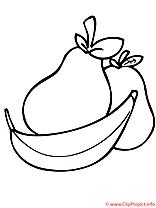 Fruit coloriage