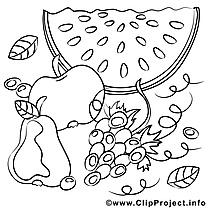 Fruits image gratuite à imprimer