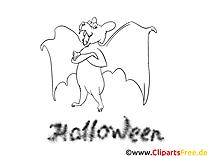 Chauve-souris dessin – Halloween gratuits à imprimer