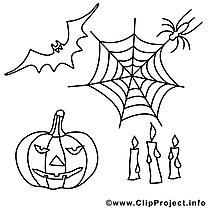 Décoration illustration – Halloween à imprimer