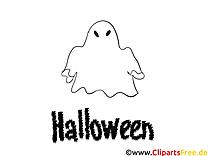 Illustration phantôme – Halloween gratuits à imprimer