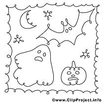 Phantôme images – Halloween gratuit à imprimer
