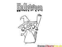 Vieille sorcière images – Halloween gratuits à imprimer