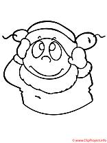 Bonnet coloriage