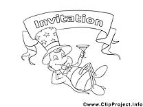 Cafard clip art gratuit – Invitations à imprimer