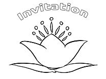 Carte images – Invitations gratuit à imprimer