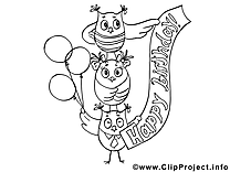 Hiboux clip art gratuit – Invitations à imprimer