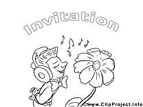Homme clip art gratuit – Invitations à colorier