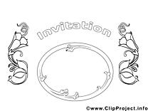 Image gratuite invitations à imprimer