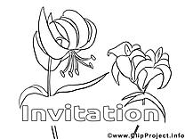 Invitations gratuits à imprimer images