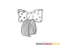 Nœud illustration – Coloriage jour de l'Indépendance cliparts