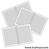 Carnets image gratuite – École à imprimer