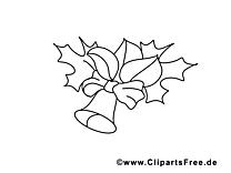 Clochette dessin gratuit – École à colorier