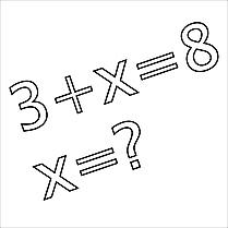 Équation dessin gratuit – École à colorier