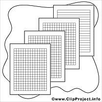 Feuilles dessin gratuit – École à colorier