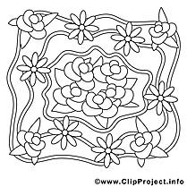 Roses images – Mariage gratuits à imprimer