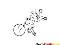 Bicyclette images – Maternelle gratuit à imprimer