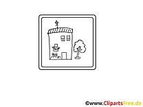 École clip art gratuit – Maternelle à imprimer