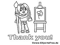 Peinture dessin – Maternelle gratuits à imprimer