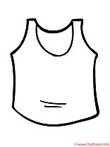Gilet coloriage