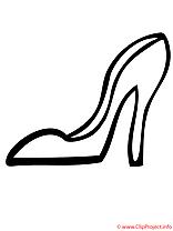 Nu-pieds coloriage