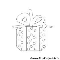 Cadeau dessin gratuit – Noël à colorier