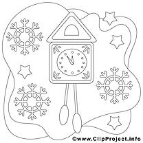Coucou clip art gratuit – Noël à imprimer