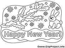 Lapin cliparts gratuis – Nouvel à imprimer