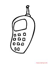 Cellulaire coloriage
