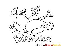 Abeille cliparts gratuis – Pâques à imprimer