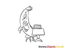 Banane dessin – Cartoons gratuits à imprimer