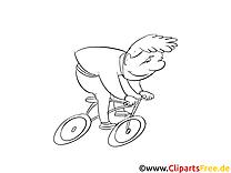 Bicyclette images – Cartoons gratuits à imprimer