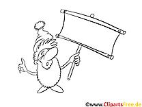 Gnôme clipart – Cartoons dessins à colorier