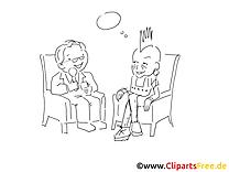 Interview dessin à télécharger – Cartoons à colorier