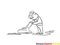 Jardinier dessin gratuit – Cartoons à colorier