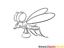 Libellule clip arts – Cartoons à imprimer