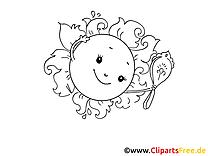 Miroir illustration – Coloriage cartoons cliparts