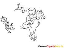 Noces images – Cartoons gratuits à imprimer