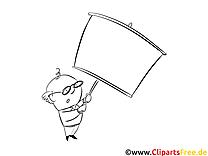 Panneau cliparts gratuis – Cartoons à imprimer