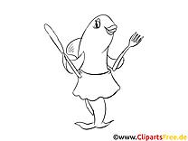 Poisson image à télécharger – Cartoons à colorier